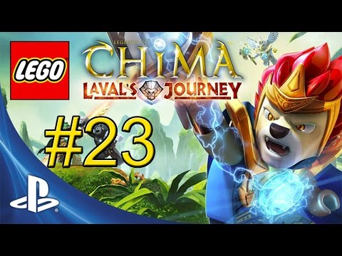 Мультики Лего Чима - Турниры - Лавал vs Краггер (Lego Chima)