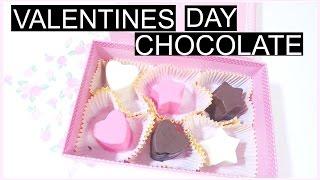 Homemade Valentine's Day Chocolate