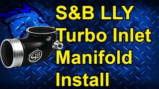 S&B Turbo Inlet Intake Elbow Install: 04.5-05 GM Duramax LLY #76-1006B