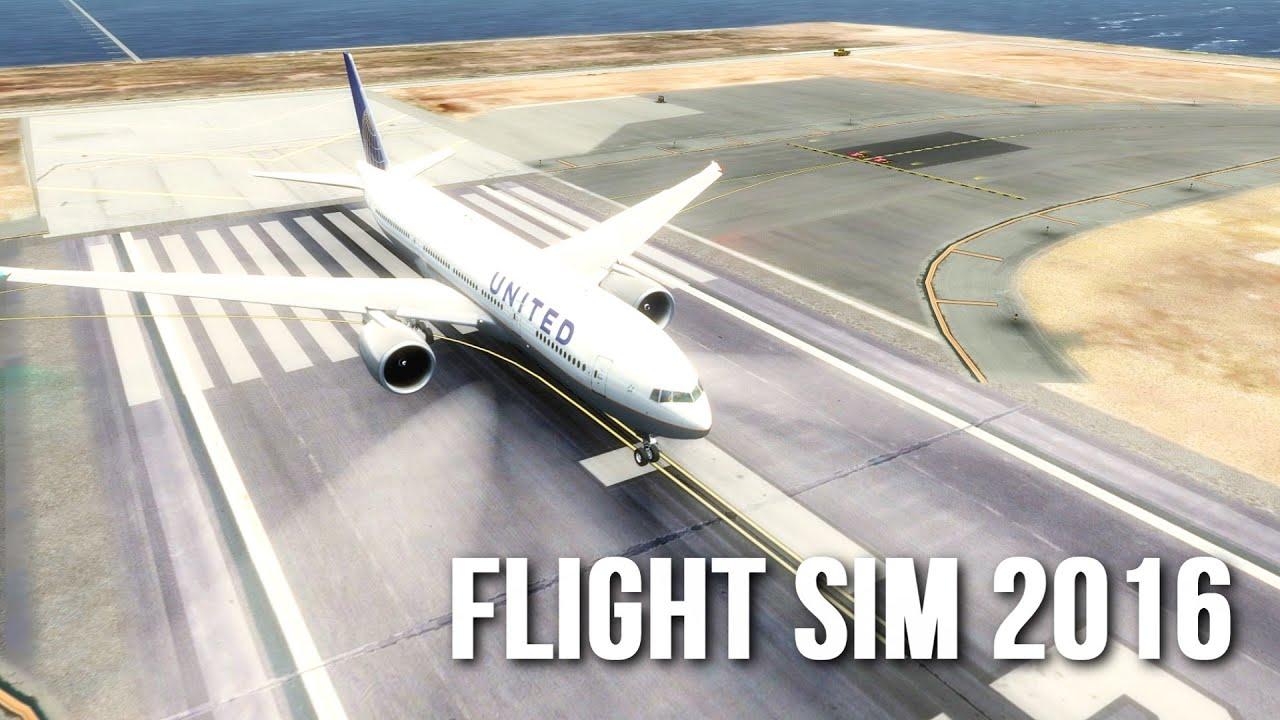 NEW Flight Simulator 2016 - BEST GRAPHICS (Ultra Realism FSX) GTX1080