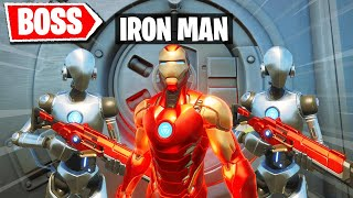 I Pretended I'm the IRON MAN Boss in Fortnite
