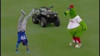 MLB Funniest Mascots - Phillie Phanatic