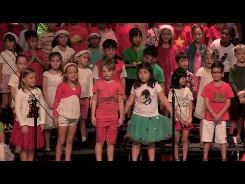 Grade 2 holiday assembly, Lakeside campus | Canadian International School Singapore