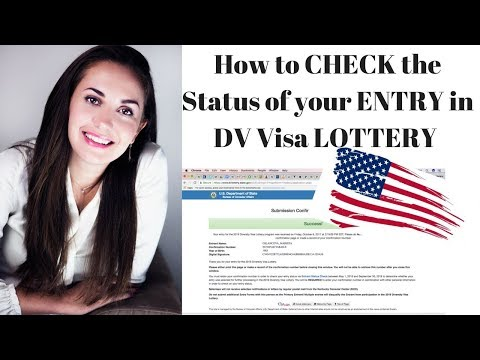 How to check the DV Visa Lottery Status 2019