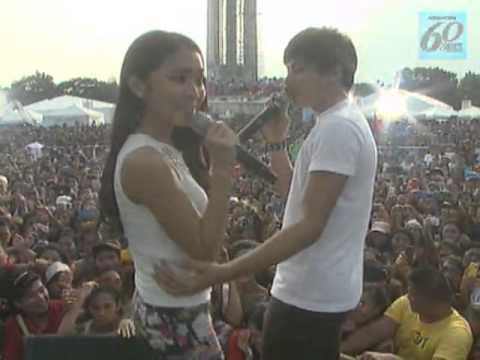 ABS-CBN 60 Years : Kathryn Bernardo & Daniel Padilla at GKW