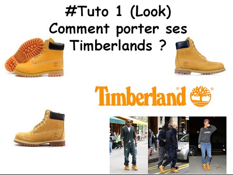 comment porter timberland femme