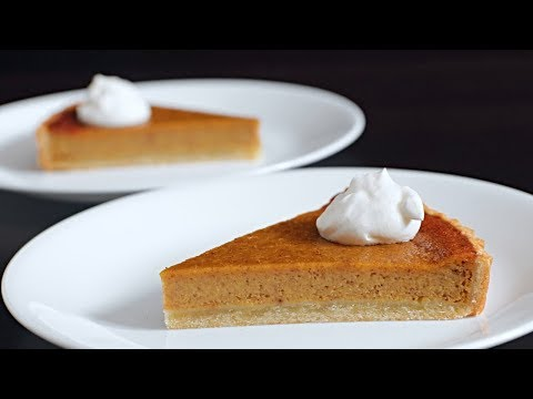 Pumpkin Pie Recipe | How To Make Pumpkin Pie