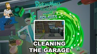 CLEANING OUT THE GARAGE   Rick and Morty Simulator: Virtual Rick-Ality