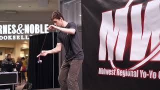 Matthew Doyle - 1A Prelim - 8th Place - MWR 2019 - Presented by Yoyo Contest Central