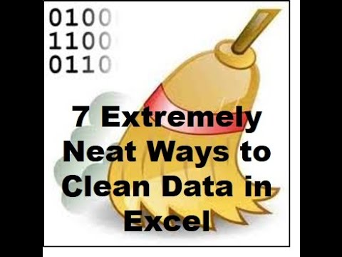 7 Extremely Neat Ways to Clean Data in Excel