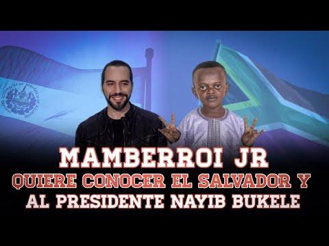 Nayib Bukele - El Gran M quiere conocer al Presidente de El Salvador Influencer Africano