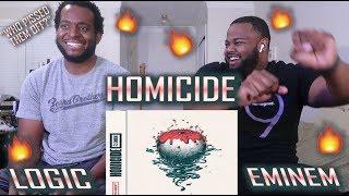 Logic - Homicide (feat. Eminem) (Official Audio) *BEST REACTION!!*   YBC ENT.