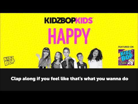 KIDZ BOP Kids - Happy with lyrics (KIDZ BOP 26)