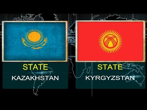 KAZAKHSTAN VS KYRGYZSTAN -  Military Power Comparsion.