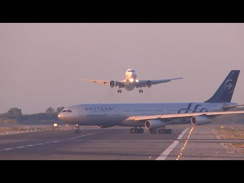 Airlines Near-misses: Planes Almost Collide With Another Planes - Compilation