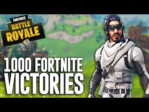 1000 Fortnite Victories!! - Fortnite Battle Royale Gameplay - Ninja