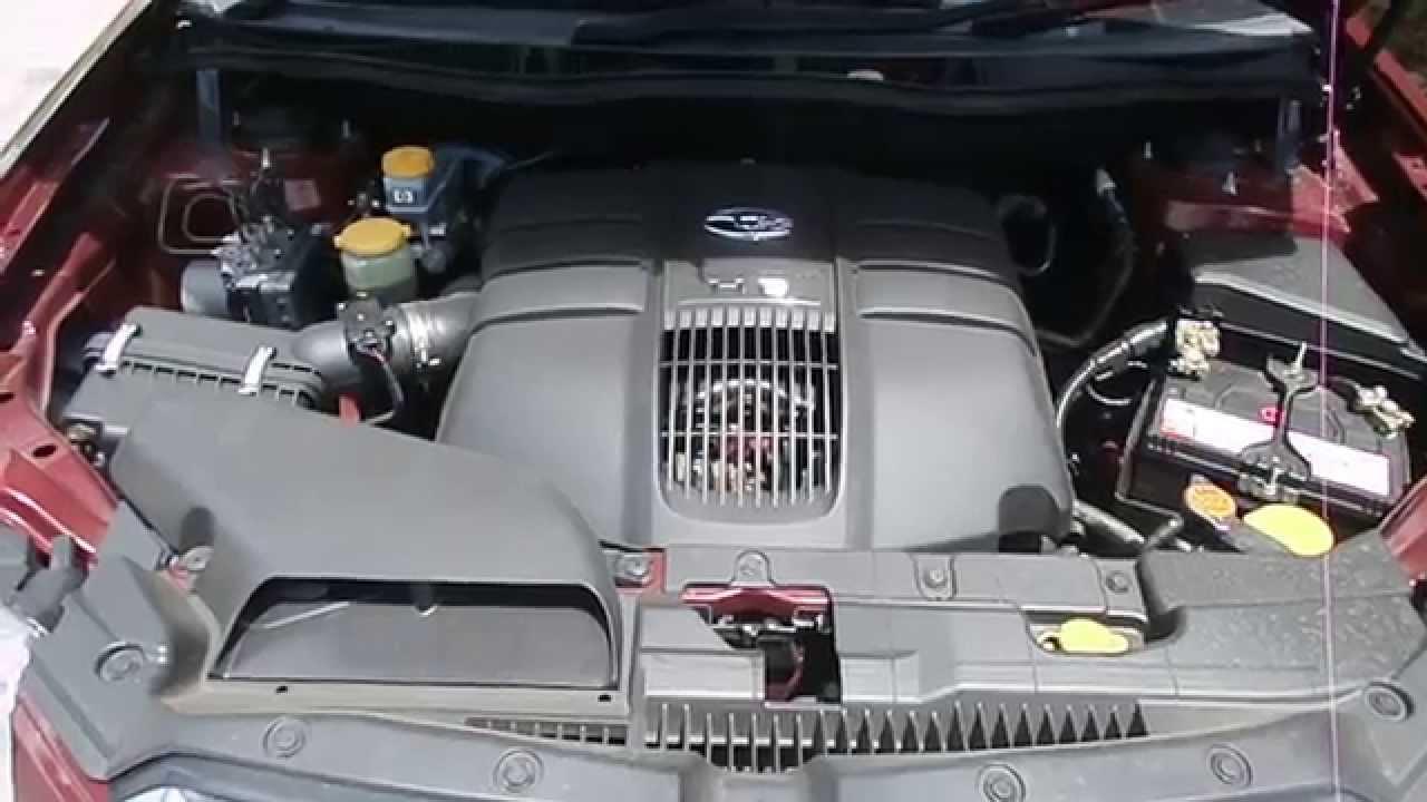 maxresdefault wrecking 2008 subaru tribeca engine 3 6, automatic (c15056) youtube subaru outback engine room fuse box at aneh.co