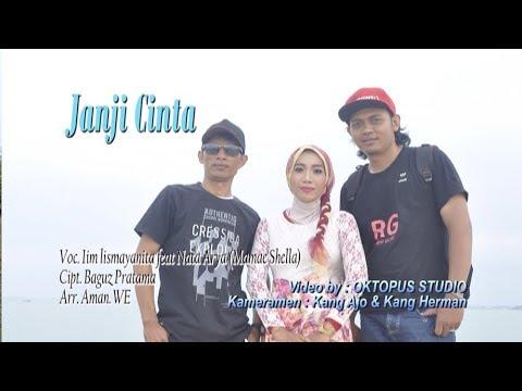 JANJI CINTA - IIm Ismayanita feat Mamae Shella - versi karaoke (official video klip)