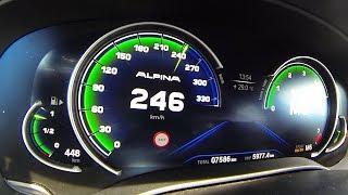 BMW Alpina B5 Biturbo Acceleration 0-200