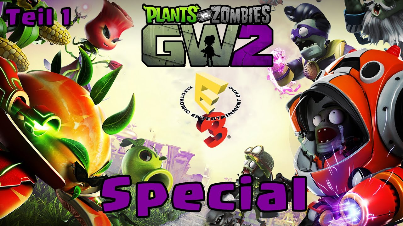 plants vs zombies garden warfare 2 e3 special render trailer