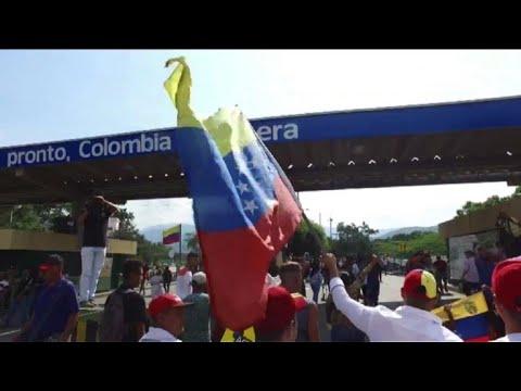Venezuela's Maduro cuts ties with Colombia amid border conflict