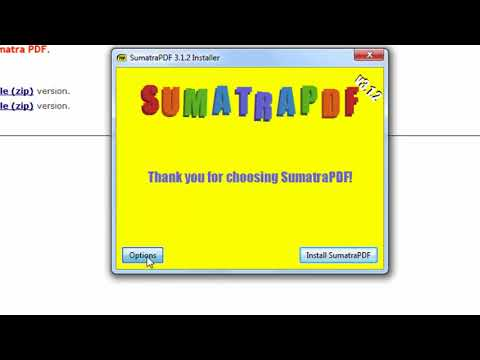 How to Download and Install Sumatra PDF Reader on Windows