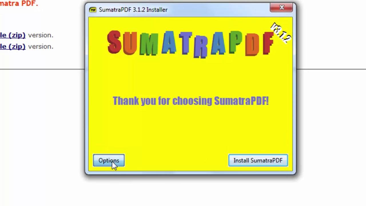 Sumatra Pdf Zip