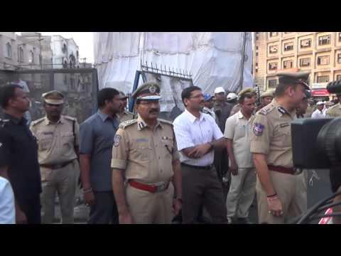 City Police tightened Security for Rama Navami Shoba Yatra