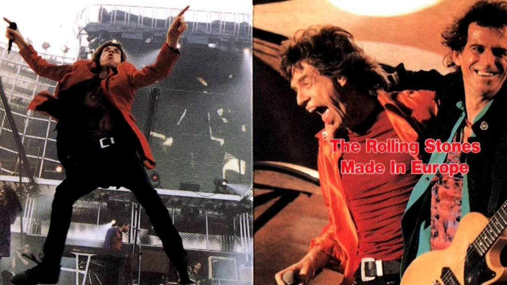 The Rolling Stones Voodoo Lounge Tour 1995 Luxembourg
