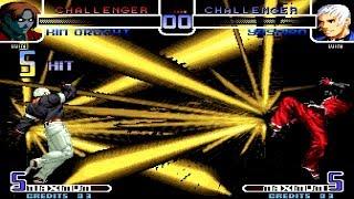 [TAS] KOF2002 | Kim Orochi vs Yashiro | Epic Battle
