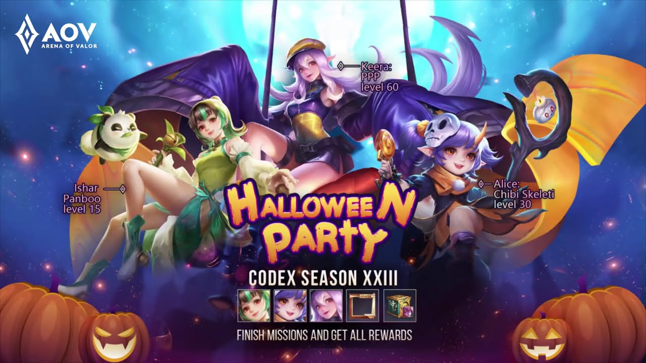 Codex Season 23 Promotional Video - Garena AOV (Arena of Valor)