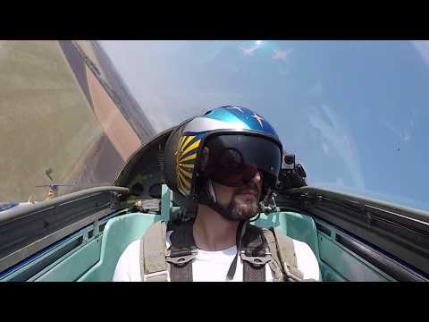 Політ на реактивному літаку L29 в Харкові