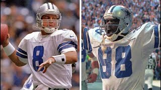 Every Troy Aikman to Michael Irvin Touchdown Pass