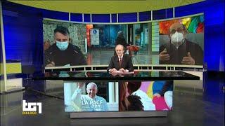 Ernesto Olivero e il Sermig su Rai1 a TG1 Dialogo