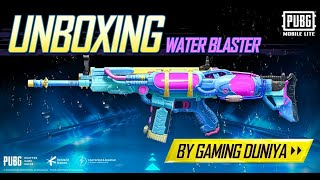 Scar-L Water Blaster Skin Crate Opening