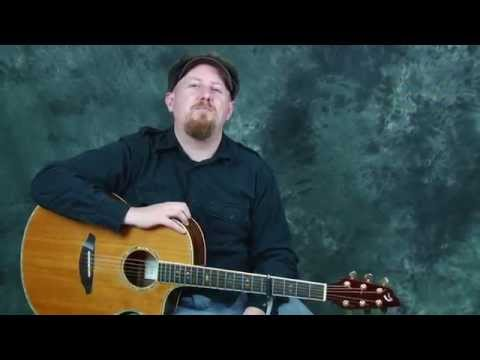 Learn EZ beginner acoustic guitar song lesson Wildflowers by Tom Petty with chords rhythms strumming