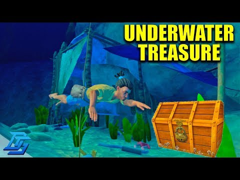 BUILDING THE SMELTER, UNDERWATER TREASURE!- Raft - Pt.6 (Multiplayer)