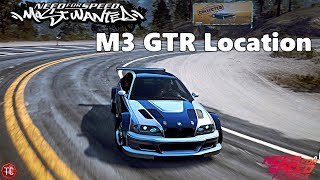 Need For Speed Payback: MOST WANTED M3 GTR ABANDONED CAR LOCATION