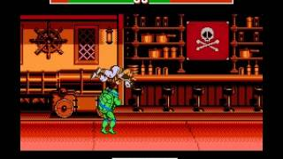 Teenage Mutant Ninja Turtles - Tournament Fighters - Playthrough - User video