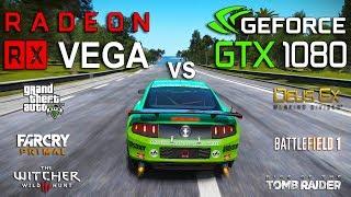 RX VEGA 64 vs GTX 1080 Test in 7 Games