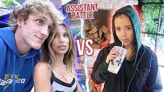 Ayla Woodruff vs Lydia Kenney Logan Paul's Assistant Battle