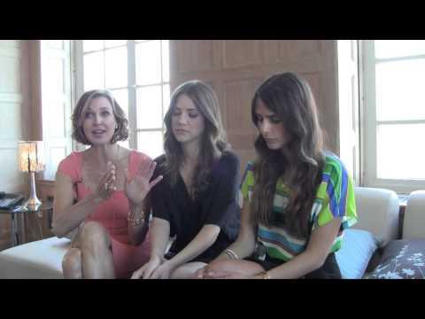 Brenda Strong, Julie Gonzalo, Jordana Brewster Interview 2012