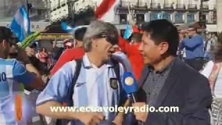 AMIGOS DE ARGENTINA, PREVIO AL PARTIDO CON ESPAÑA