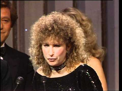 Yentl Wins Best Motion Picture Musical or Comedy - Golden Globes 1984