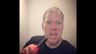 Gary Owen burns his Nike shoes in protest of Kaepernick
