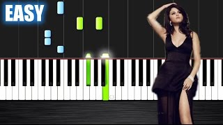 Selena Gomez - Same Old Love - EASY Piano Tutorial by PlutaX - Synthesia