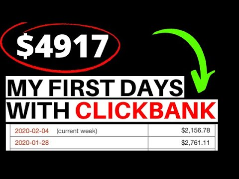 How I Made $4917 In My First 10 Days on Clickbank (Step by Step)