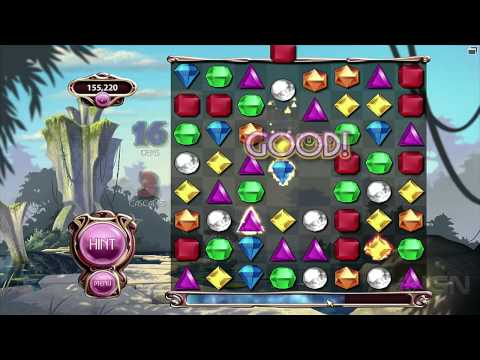 Bejeweled 3: Classic Mode Gameplay