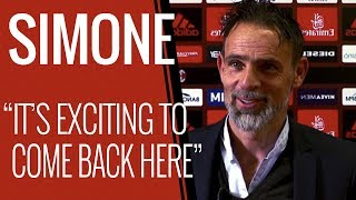 Marco Simone interview at Milanello ahead of the match vs Fiorentina