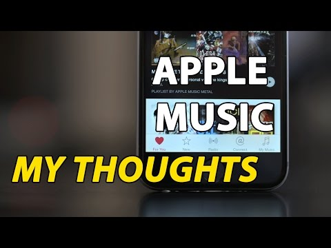 Apple Music Streaming Service - My Thoughts